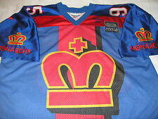 Reebok London Monarchs Jersey World League Football NFL Europe WLAF Vtg 90s 2XL
