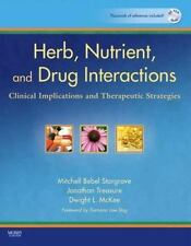 Herb, Nutrient, and Drug Interactions : Clinical Implications and Therapeutic...