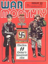 WAR MONTHLY 33 US ARMY TANKS 1914-45 WW1 WW2 PATTON SHERMAN / WAFFEN-SS FANATICS