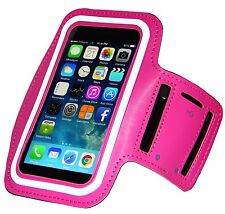 Outdoor Gym Sport Armband Skin Case Cover for iPhone 6Plus/6sPlus – Pink