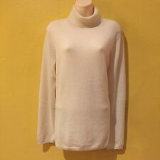 NWT $139 ~ Charter Club Luxury 100% Cashmere Womens Ivory  Sweater - Size XL