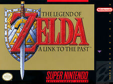 A4 Poster - The Legend of Zelda A Link to the Past (Super Nintendo SNES Picture)