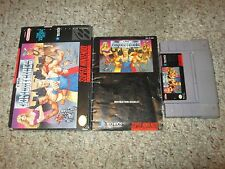 The Combatribes (Super Nintendo Entertainment System SNES, 1993) Complete GOOD