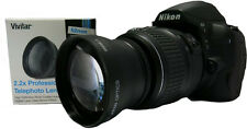 HD 2X TELEPHOTO ZOOM LENS FOR NIKON D3400 55MM FOR NIKON AF-P 18-55MM LENS