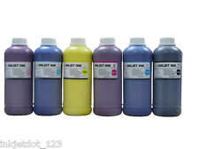 6 Pint Pigment refill ink for Epson Pro 9500 Stylus Pro 7500 BK/C/M/Y/LC/LM
