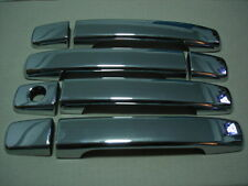 4 DOOR CHROME HANDLE HAND COVER TRIM FOR NISSAN NAVARA D40 05-11