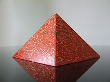 Orgone Base Root 1st Chakra Pyramid Awakening Ruby Red Jasper Opal 5xDT Quartz