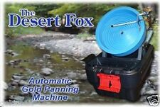 DESERT FOX  ONE SPEED GOLD PANNING MACHINE! GREAT GIFT FOR FAMILY OR FRIENDS!