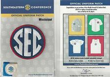 Mississippi SEC Conference Jersey Uniform Patch 100% Official College Football