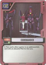 Commander Ev-036 Mobile Suit Gundam MS M.S. War Trading Card Game TCG CCG