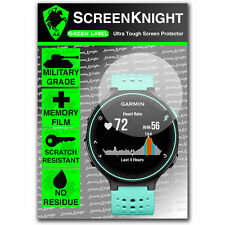 Screenknight Garmin Forerunner 235 Protector De Pantalla Invisible Militar Escudo