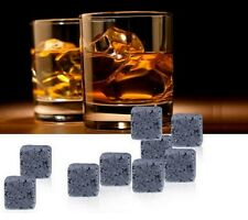 9PCS New Magic Whisky Cooling Stone Ice Cubes Rocks Cold Glacier Stones