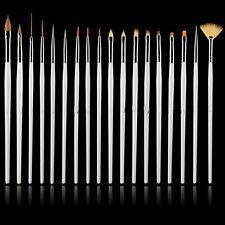 15pcs Nail Art UV Gel Design Set Painting Drawing Brush Decor Pen Manicure Tools