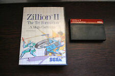 Jeu ZILLION II 2 THE TRI FORMATION pour Sega MASTER SYSTEM (MS) (pas de notice)
