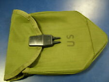 US MILITARY VIETNAM WAR INTRENCHING TOOL COVER SHOVEL POUCH NYLON DATED 1971 NOS