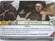 A Game of Thrones 2.0 LCG - 1x A Time For Wolves  #046 - Wolves of the North