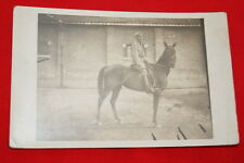 REGIMENT PHOTO A CHEVAL MILITAIRE  R360