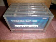 NEW 5PK Tandberg Data 431647 Tape Cartridge MLR-3 SLR50/MLR3 25GB/50GB 12096 LOT