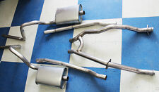 """1965-1970 Mustang Dual 2"""" Exhaust System HIPO H-Pipe 289 302 V8 Aluminized"""
