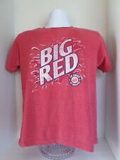 Adult Big Red Savvy Big Red Short Sleeved T-Shirt size-M 55% Cotton 45%Polyester