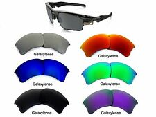 Galaxy Replacement Lenses For Oakley Flak Jacket XLJ Iridium Black Polarized