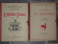 Mobilier Bressan et Flamand - art régional textile Champier Germain Masson 2 vol