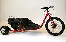 New 212cc Predator Gas Powered Drift Trike. Candy Red