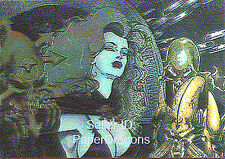 LADY DEATH - Series 2 - Clearchrome Tryptic Chase Card Set of 3