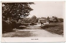 P.C Horses In Lane Old Dalby Leicester Leicestershire R P Pub Townes Series