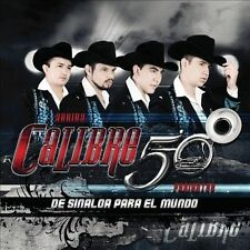 De Sinaloa Para El Mundo by Calibre 50 (CD, Mar-2011, Disa)