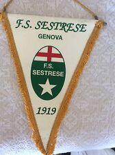 GAGLIARDETTO UFFICIALE CALCIO - F.S. SESTRESE 1919 GENOVA - CALCIO LIGURIA