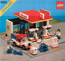 LEGO Town Shell Service Station (6378) (Vintage)