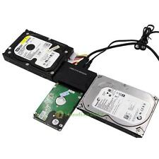 IDE SATA Hard Drive SATA to USB 3.0 DATA Transfer Converter w/ EU Power Adapter