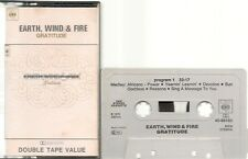 K7 AUDIO / TAPE--EARTH WIND & FIRE--GRATITUDE--1975