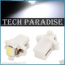 9x Ampoule B8.3D BX8.3D BAX10S ( T5 sur culot ) LED SMD Blanc White Neo Wedge