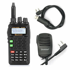Wouxun KG-UV899 Dual-Band 136-174/400-520 MHz Two-way Radio IP55 +Speaker +Cable
