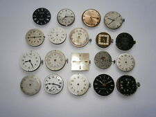 Job lot of vintage gents watch movements from mechanical watches spares repair