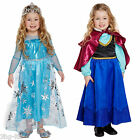 Frozen Inspired Fancy Dress Anna or Elsa Dress Up Party Costume Toddler Age 3