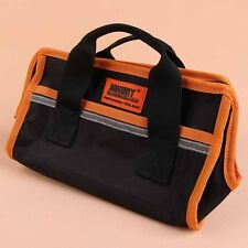 Black and Orange canvas tool bag Mechanic Carpenter Storage Case For Tools New