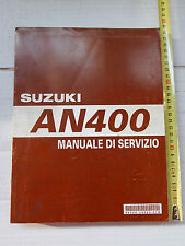 MANUALE OFFICINA SUZUKI AN 400 BURGMAN MANUAL REPAIR