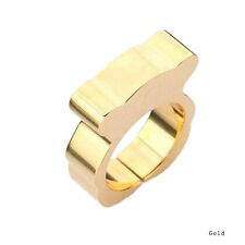 Fine Quality Stainless Steel Ring Titanium Steel Rings Teddy Bear New