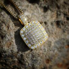 Hip Hop Iced Out Diamond Pendant Necklace Jewelry