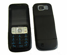 For Nokia 2630 Fascia Housing Battery Cover Keypad Screen Lens Black UK