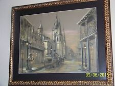 """""""NEW ORLEANS"""" BY King Napoleon BORN 1940 PASSED 2005 FRENCH QUARTER ARTIST"""