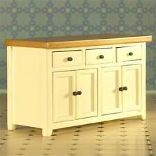 Cream Shaker Style Sideboard 1:12 Scale for Dolls House