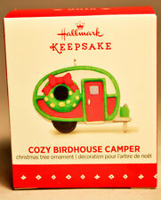 Hallmark: Cozy Birdhouse Camper - Miniature - 2015 Ornament