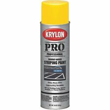 CASE/6 KRYLON YELLOW   STRIPING PAINT*** PARKING LOT MARKER