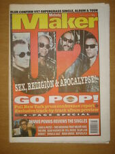 MELODY MAKER 1997 FEB 22 U2 BLUR SUPERGRASS ORB LIAM