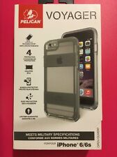 Pelican Progear Voyager Case and Holster for Apple iPhone 6/6s -Clear/Light Gray