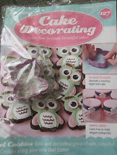 Deagostini Cake Decorating Magazine ISSUE 127 WITH OWL COOKIE BISCUIT CUTTER